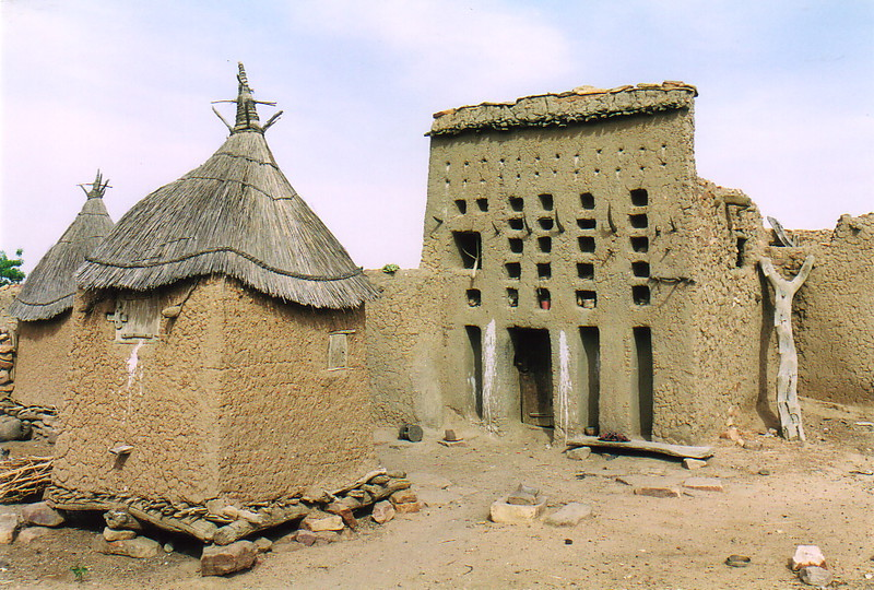 A Dogon dwelling in Djiguibombo