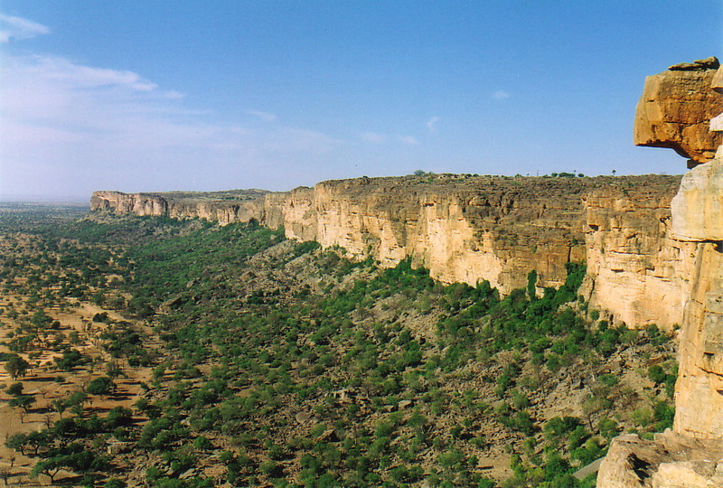 The Bandiagara Escarpment