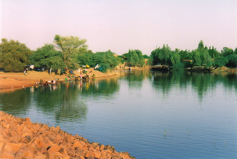 The River Niger near Tonka