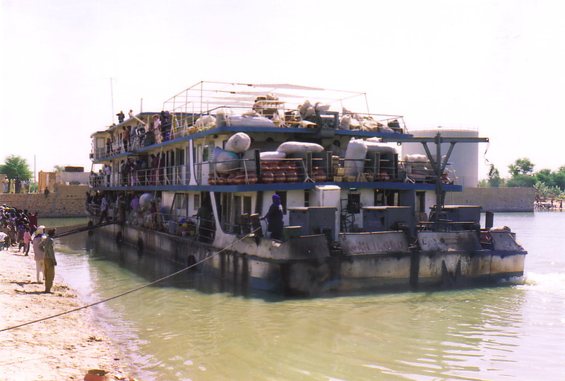 The public ferry 'Tomboctou'