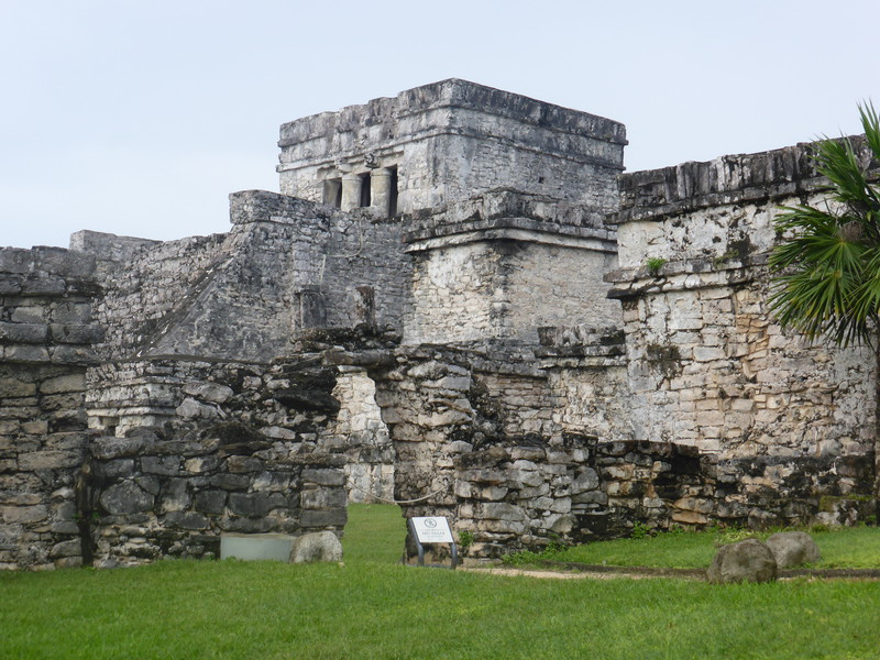 The Castillo dominates the Mayan ruins at Tulum