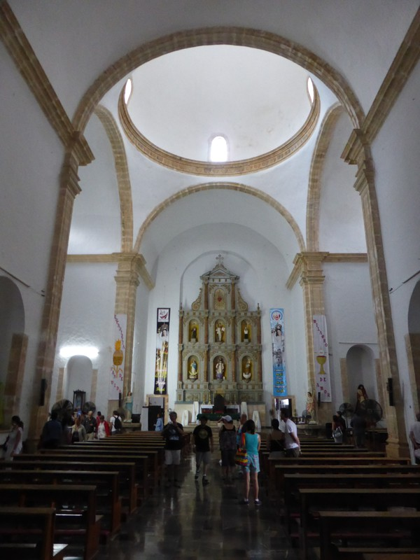 Inside the Cathedral de San Gervasio