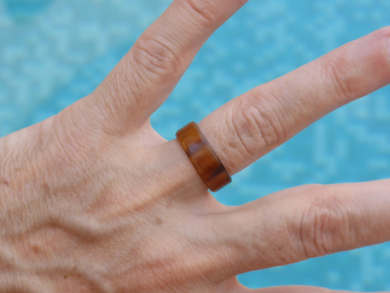 Peta's new wedding ring