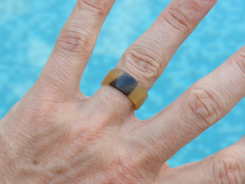 Mark's new wedding ring