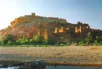 The stunning ksar at Aït Benhaddou