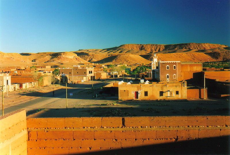 A view over Aït Benhaddou