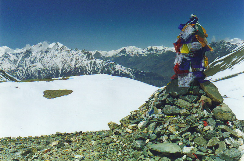 The pass at Thorung La