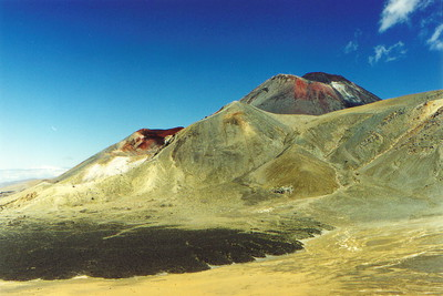 The central crater of Tongariro