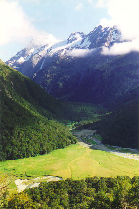 Scenery near the start of the Routeburn