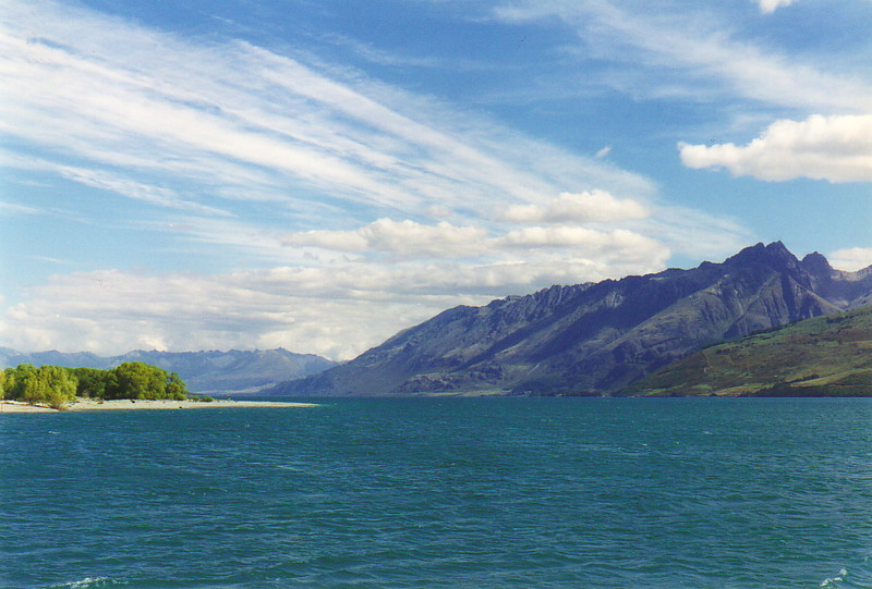 Stark scenery at Glenorchy