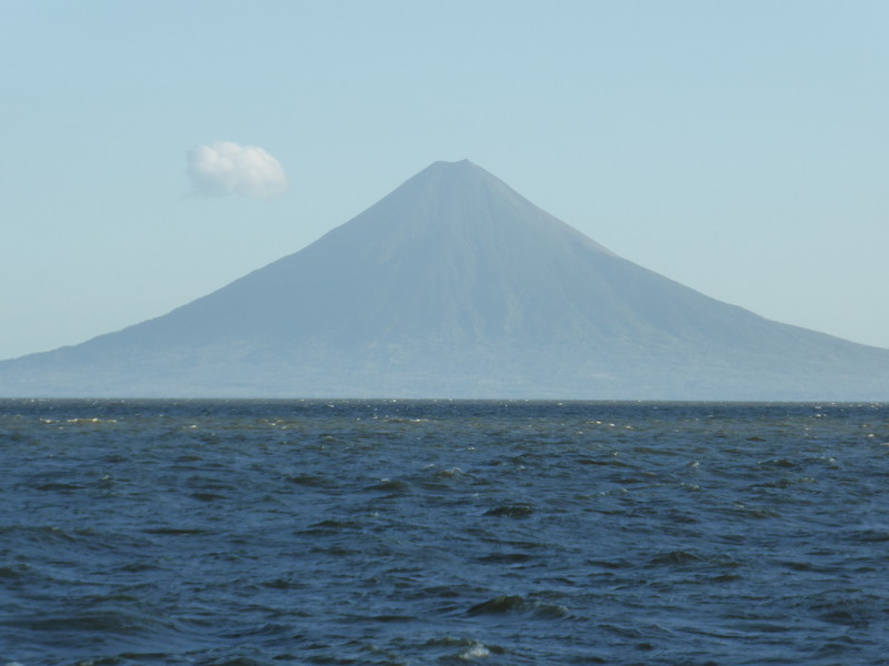 Volcán Concepción, the bigger of Ometepe's two volcanoes