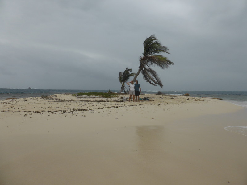 Marooned on two-palm island