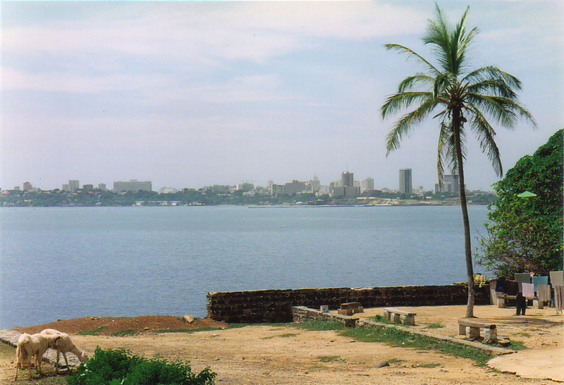 Dakar as seen from Île de Gorée