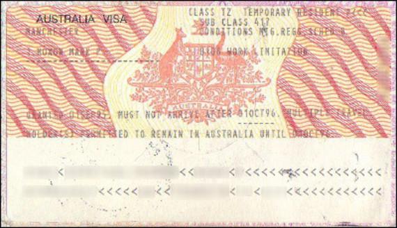 visa australien